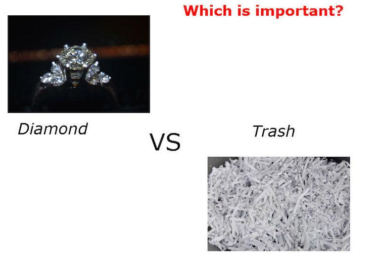 解けた問題はゴミ。解けなかった問題はダイヤのような宝物。