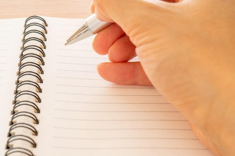 文字を書いていなければ一生覚えられない